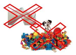 Запрет на молоко и игрушки