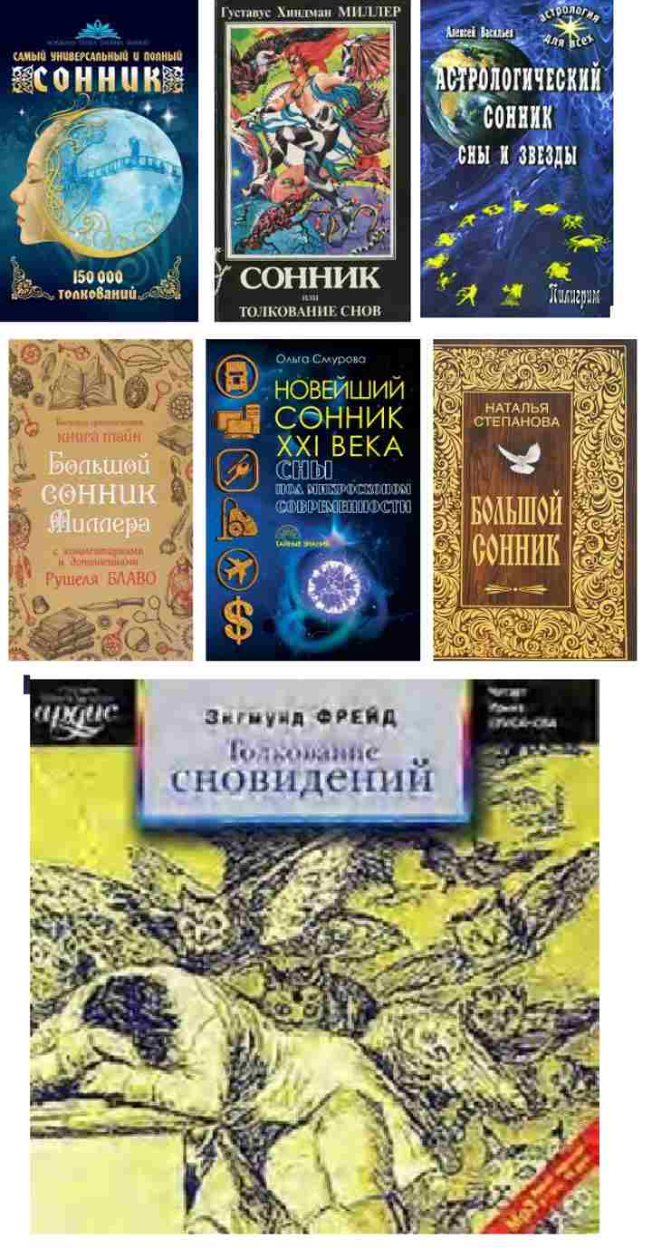 Книги-толкователи снов
