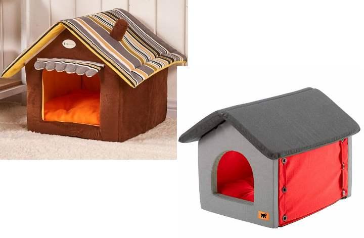 шьем домик для собаки своими руками только из натуральных тканей